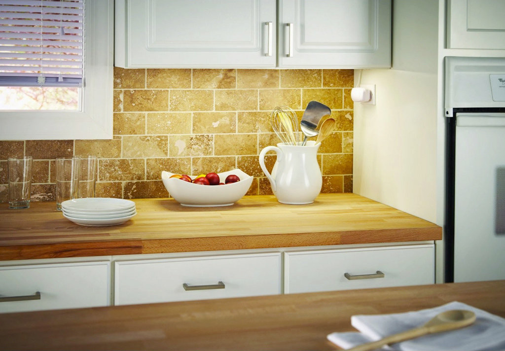... led under cabinet lighting; power control mounted underneath upper  cabinets; direct wire ... - Direct Wire Under Cabinet Lighting