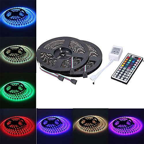Litexim 164ft rgb led strip light kit 150 led rope light16 litexim 164ft rgb led strip light kit 150 led rope light16 color changing under cabinet lighting smd 5050 rgb30 led per meter dimmable aloadofball Gallery