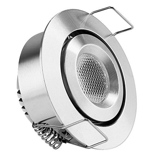 Kitchen Lighting Halogen Or Led: LE 1.5-inch LED Under Cabinet Lighting, 1W, 12V DC, 80lm